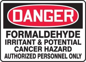 formaldehíde peligro