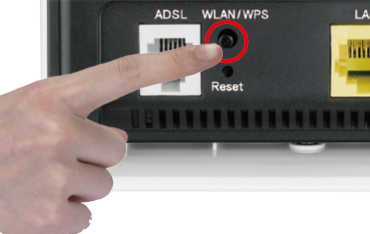 Fig. 1: Interruptor de apagado/encendido del WLAN